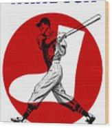 Chicago White Sox 1960 Scorebook Wood Print