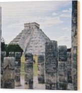 Chichen Itza 3 Wood Print