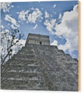Chichen Itza 5 Wood Print