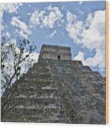 Chichen Itza 6 Wood Print