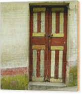 Chichi Door Wood Print