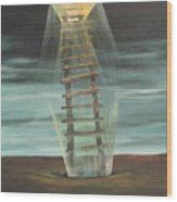Chickasaw's Ladder Wood Print