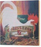Chicken Little Wood Print