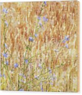 Chickory N Wheat W C Wood Print