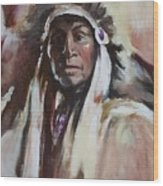 Chief 1 Wood Print