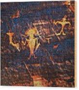 Chief Among Warriors Wood Print