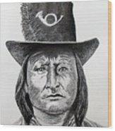 Chief Bird-Arapahoe Wood Print