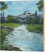 Chief Joseph Ranch Montana Wood Print