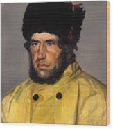 Chief Lifeboatman Lars Kruse Wood Print