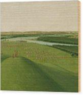 Chief Of The Plains Ojibwa Wood Print