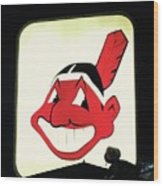 Chief Wahoo  Wood Print