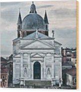 Chiesa Del Redentore Venice Wood Print
