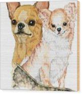 Chihuahuas Wood Print