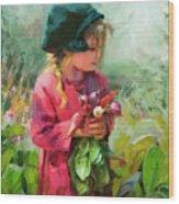 Child Of Eden Wood Print