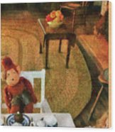 Children - Toys - The Tea Party Wood Print