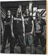 Children Of Bodom Wood Print