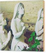 Children Of Fatima Wood Print