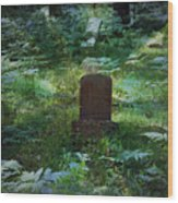Children Of The Grave Wood Print