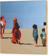Children Of The Sinai Wood Print