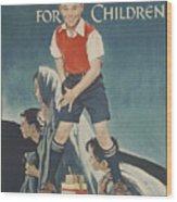 Children's Crusade For Children Wood Print