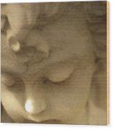 Cherub Angel Wood Print