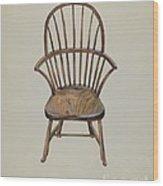 Child's Arm Chair Wood Print