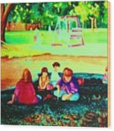 Childs Play Wood Print