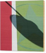 Chili Spot Wood Print