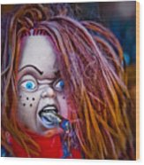 Chillin' With Chuckie Wood Print