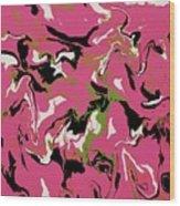 Chimerical Hallucination - Vhfk100 Wood Print
