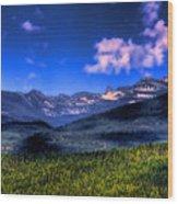 Chimney Rock At Priest Lake Wood Print