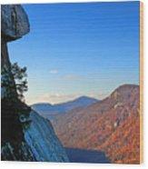 Chimney Rock  2 Wood Print