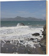 China Beach  Wood Print