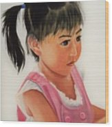 China Doll 2 Wood Print