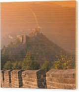 China, The Great Wall Wood Print