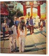 Chinatown Wood Print