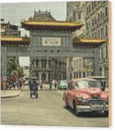 Chinatown Chevy  Wood Print