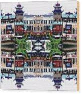 Chinatown Chicago 2 Wood Print