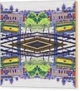 Chinatown Chicago 3 Wood Print