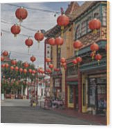 Chinatown Los Angeles 1 Wood Print