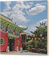 Chinatown Los Angeles #2 Wood Print