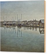 Chincoteague Bay Wood Print