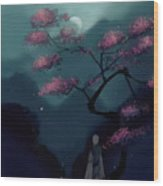 Chinese Ancient Style Wood Print