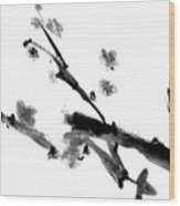 Chinese Brush Lv Wood Print