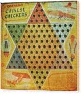 Chinese Checkers Wood Print