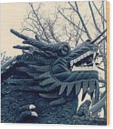 Chinese Dragon Wood Print