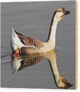 Chinese Goose Wood Print