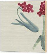 Chinese Hawthorn Wood Print