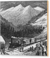 Chinese Laborers, 1868 Wood Print