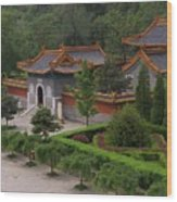 Chinese Palace Wood Print